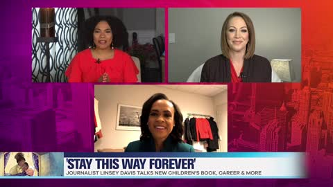 Linsey Davis Talks New Children's Book 'Stay This Way Forever' & Career