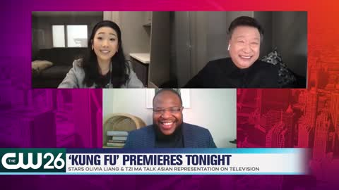 'Kung Fu' Stars Olivia Liang & Tzi Ma Talk Asian Representation on Television