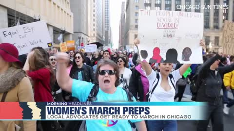 Prepping for the Chicago Women's March
