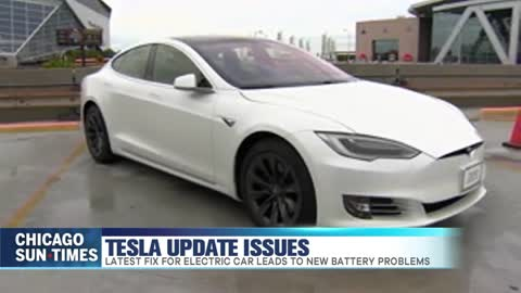 Tesla Drivers Powerless After Auto Update