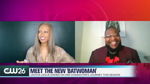Meet the New 'Batwoman' Javicia Leslie