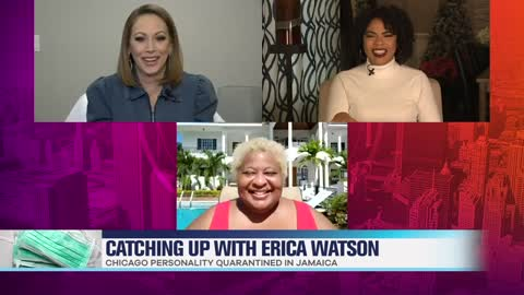 Comedian Erica Watson's Tropical Quarantine Experience