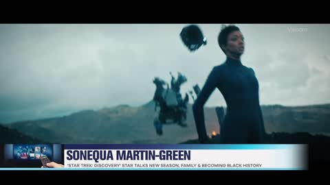 'Star Trek: Discovery' Star Sonequa Martin-Green Shares Details on the Show