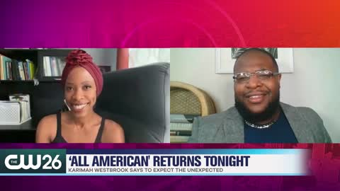 Karimah Westbrook Dishes on 'All American' Returning & Her Character Grace James
