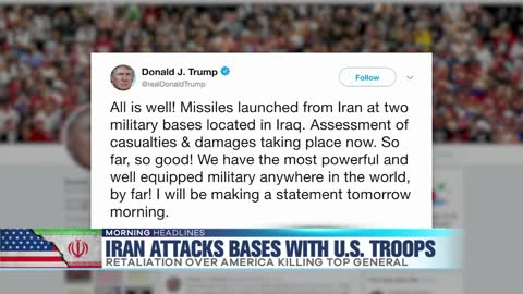 Iran Attacks Bases with U.S. Troops