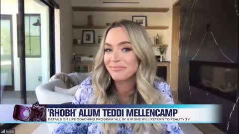 Teddi Mellencamp Dishes on 'The Real Housewives of Beverly Hills' & Possibly Returning to the Show