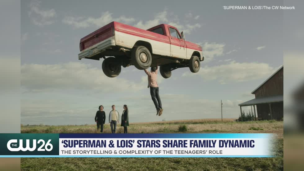 'Superman & Lois' Family Dynamic & Storytelling Between Teenagers