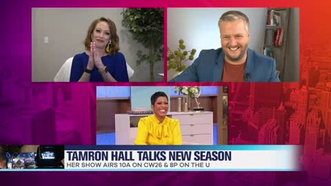 Tamron Hall Talks Season Two And Emmy Win