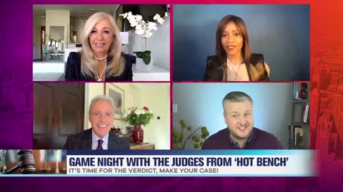 'Hot Bench' Judges Play Hilarious Game of 'Make Your Case'