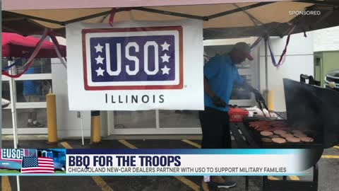 Chicagoland New-Car Dealers & USO of Illinois Team Up to BBQ for the Troops