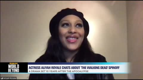 Actress Aliyah Royale Chats 'The Walking Dead: World Beyond'