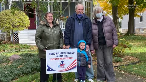 Honor Flight Chicago's Mission to Celebrate Veterans