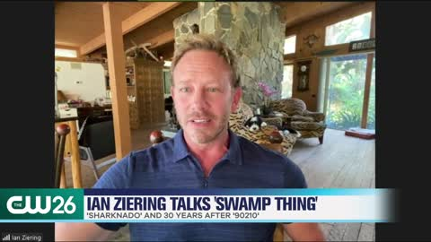 Ian Ziering Talks New Role In 'Swamp Thing' & Luke Perry