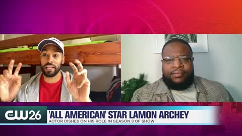 Lamon Archey Dishes on Villan Role in 'All American'