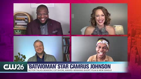 'Batwoman' Star Camrus Johnson Talks Playing Luke Fox & New Comic Strip