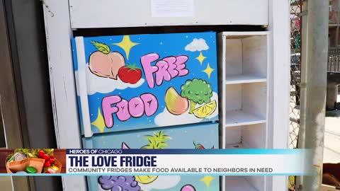 Fighting Food Insecurity In Chicago, One Fridge At A Time