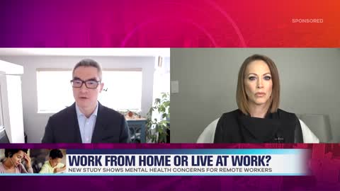 Study: Working From Home Can be Detrimental to Mental Health