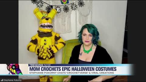 Mom Crochets Amazing Halloween Costumes For Kids