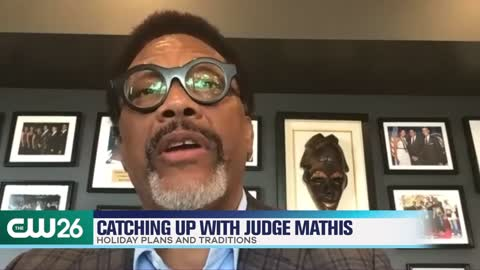 Judge Greg Mathis Chats Holiday Traditions