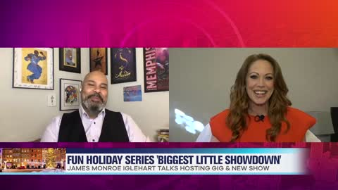 James Monroe Iglehart Talks Grand Prize of Holiday Series 'Biggest Little Showdown'
